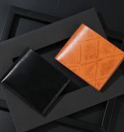 Men's wallet short multi-card wallet