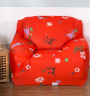 Christmas stretch tight all-inclusive full cover sofa cover