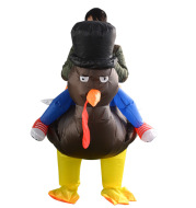 Thanksgiving turkey inflatable suit