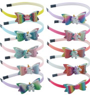 Children's bow unicorn headband