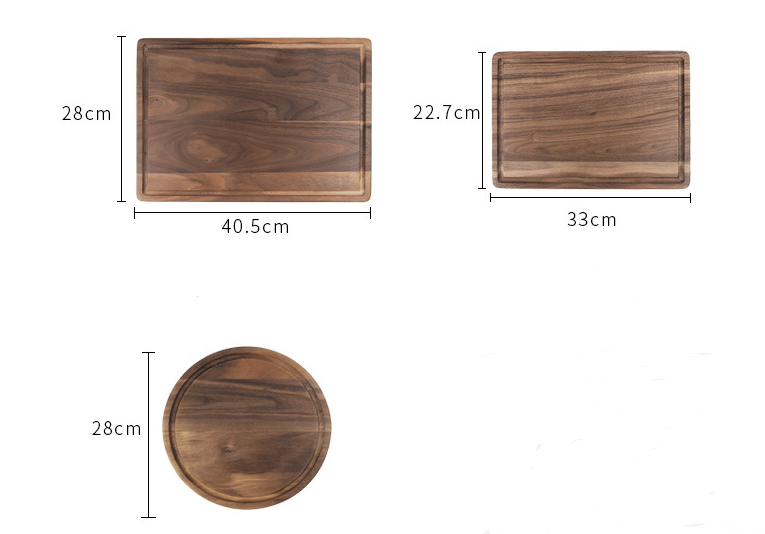 Black Walnut Chopping Board 1