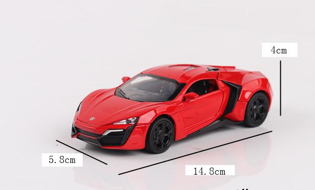 Toy Car size