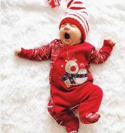 Christmas snowflake print jumpsuit