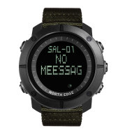 Outdoor men's multi-function electronic waterproof watch