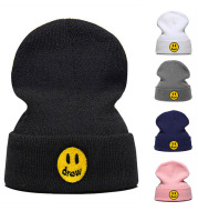 Ebay smiley knitted wool hat