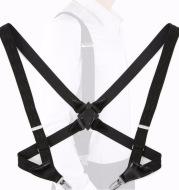 Holster strap clip