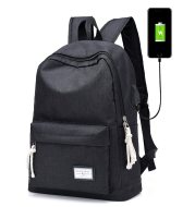 Casual backpack travel usb charging backpack