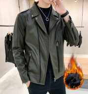 Teen plus velvet leather