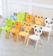 Cartoon thickened plastic chair