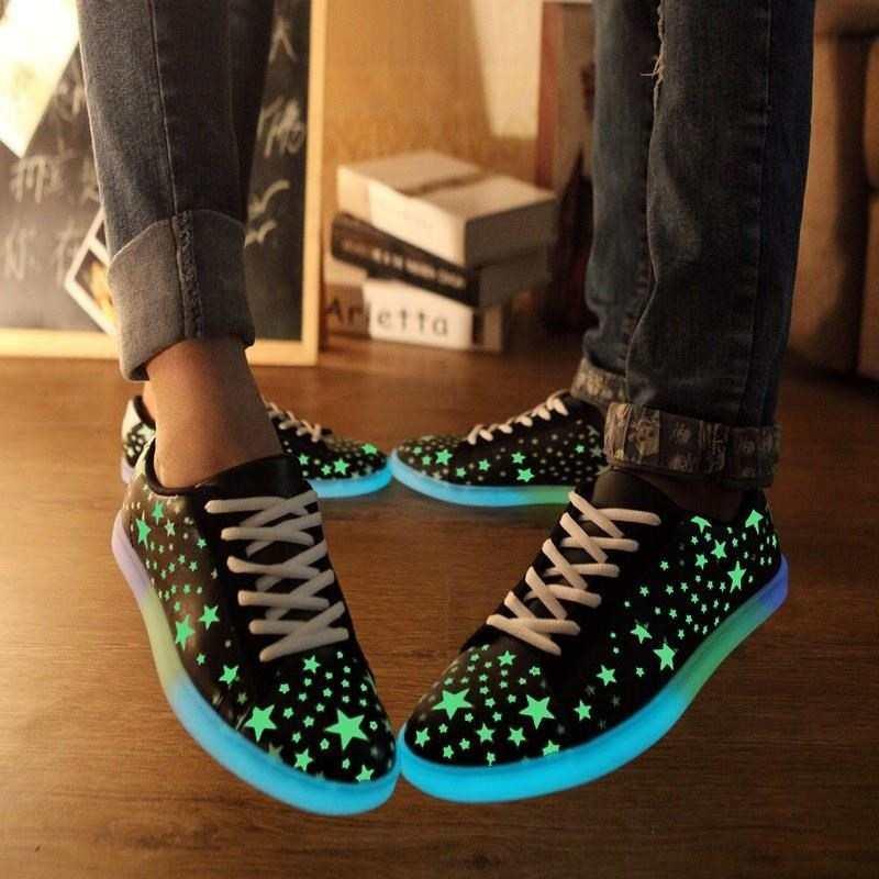 584567268453 Led luminous luminous shoes