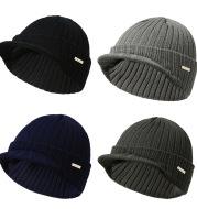 Striped wool hat