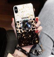 Leopard print color phone case