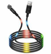 LED sound control light-emitting beat data cable