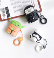 Star Wars White and Black Samurai Headphone Case
