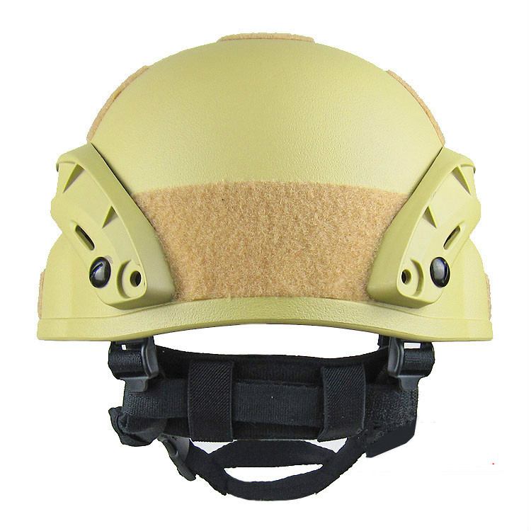 Sand Tactical Helmet Back