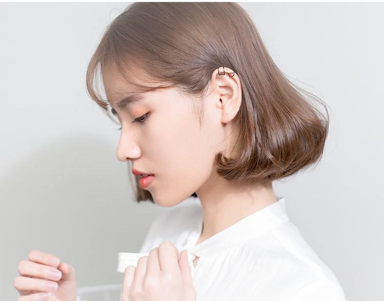 S925 Sterling Silver, Gold, Black Clip On Minimalist Small Simple Hoop Earrings