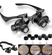 Watches / electronic repair jewelry evaluation LED magnifier