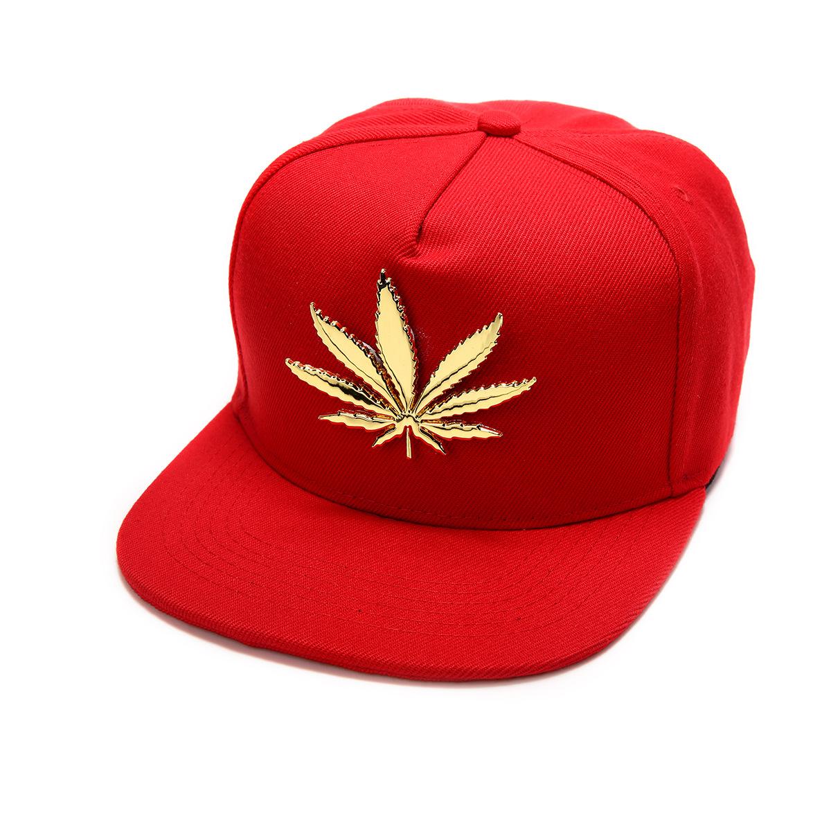 Baseball Cap - Weed Cotton Hip Hop Cap