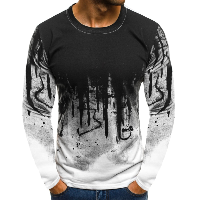 3677236887730 Camouflage Pullover Long Sleeve T-Shirt