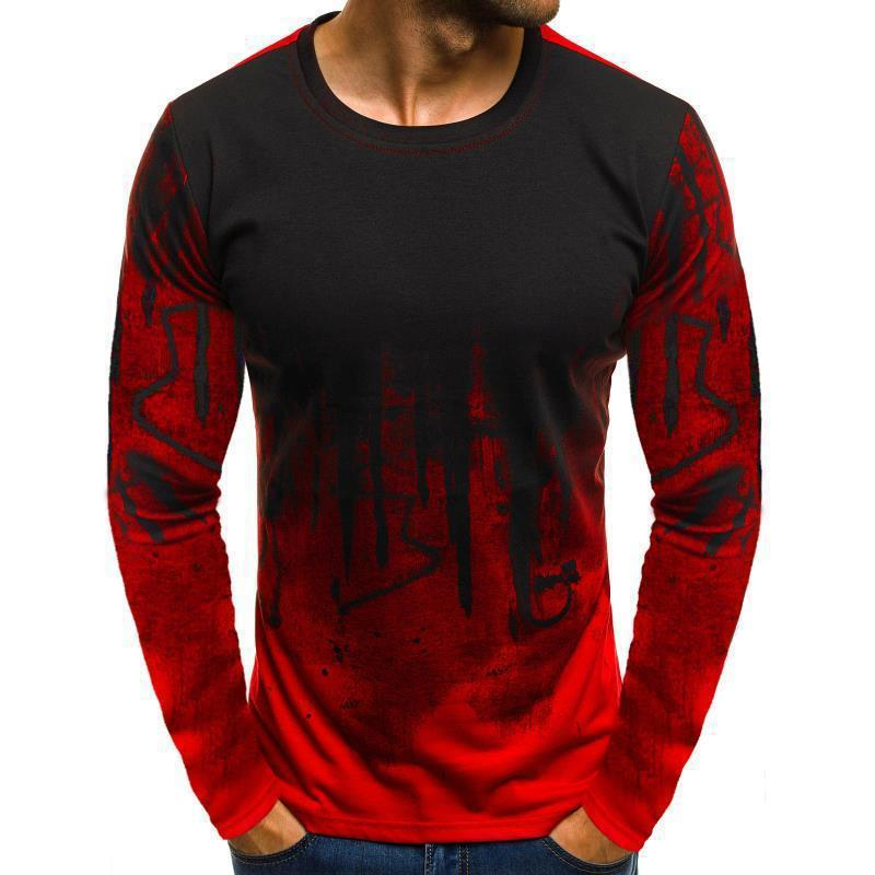 81562567989 Camouflage Pullover Long Sleeve T-Shirt