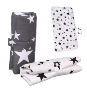 Baby cotton portable diaper changing pad