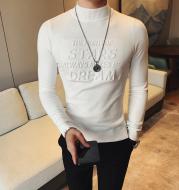 Half turtleneck sweater