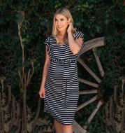 Fashion Pregnancy Cotton Dress