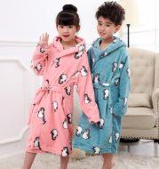 Flannel children's nightgown