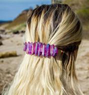 Classic Hair Clip Handmade Gems