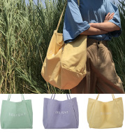Large-capacity canvas bag DELIGHT bag