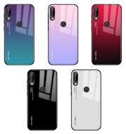 Gradient glass phone case