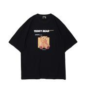 Cartoon cute bear short sleeve t-shirt