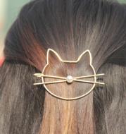Cute Kitty Hair Clips