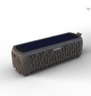 New T61 solar wireless speakers continue 60H environmental friendly solar Bluetooth speakers