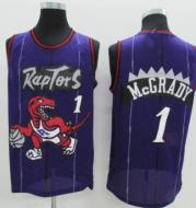 T-mac carter raptors retro grand dragon jerseys