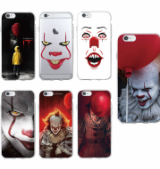 Clown Pennywise TOMOCOMO Float Cartoon Comic Soft Clear Phone Case Cover Coke Cases For iPhone 7 Plus 7 6 6 S 6 More 8 MORE 8 X