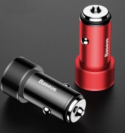 36W Dual USB Fast Charge QC 3.0 Car Charger for iPhone USB Type-C PD Fast Mobile Charger Mobile Car Charger - Quick Charger