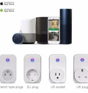 Home Automation Telephone Remote Control Timer Control Voice Control Wifi Smart Plug Work Jack with