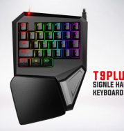 T9PLUS Single-handed Gaming keyboard 29 Buttons Mechanical Mini keypad