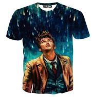 2020 summer new aliexpress eBay explosion models 3D 3D t-shirt men's short sleeve T-shirt customized t-shirt men