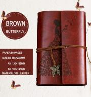 Retro kraft paper binding notebook