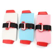 Portable folding kids safety car seat reinforcement adjustable strap baby safety seat