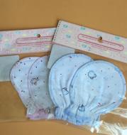 Newborn anti-scratch baby gloves
