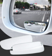 Infinity car rearview mirror car small round mirror reversing blind spot adjustable wide-angle auxiliary mirror reflective blind zone