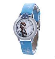 Children's Watch Frozen Girl Waterproof Quartz Watch Cute Cartoon Pupil Watch
