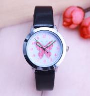 Children's Watches Kids Quartz Watch Student Girls Quartz-watch Cute Colorful Butterfly Dial Waterproof Watch