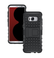 Tire pattern S8 mobile phone case S8 Plus anti-fall water jacket Two-in-one shatter-resistant bracket