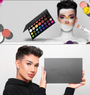 Morphe collaborates with James Charles Murphy 39X pearl matte earthy eyeshadow