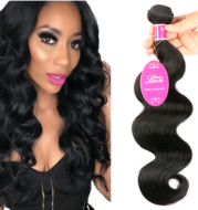 Natural color wig, real wig, hair extension, Brazilian body wave hair wig