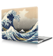 MacBook Transparent Plastic Protective Case Printed with Custom Design